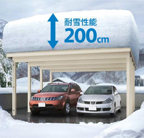 耐雪性能200cm