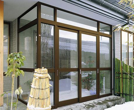 雪や風などの吹き込み防止にも風除室